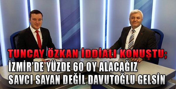 'İzmir'de Yüzde 60'a Ulaşacağız'