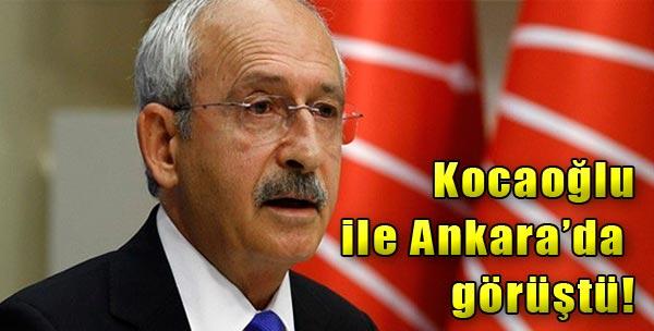 Kılıçdaroğlu Ankara'da Görüştü