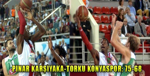 Pınar Karşıyaka Konya'ya Acımadı!