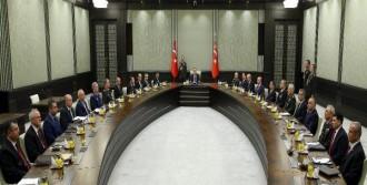 MHK Cumhurbaşkanlığı Sarayı'nda Başladı