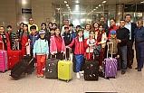 10 ülkeden çocuklar Gaziemir Şenliği'ne gelmeye başladı