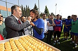 Buca Belediye Başkanı Piriştina'dan Bucaspor'a destek