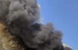 İzmir'de büyük panik... Unlu mamülleri fabrikası yandı