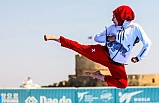 Milli tekvandocu dünya şampiyonu oldu