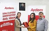 Aydem, İzinli İletişim Kampanyası 'nın ödülleri dağıtıldı