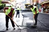 Bornova'da hedef 40 bin ton asfalt dökmek