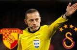 Göztepe, Galatasaray maçını Cüneyt Çakır yönetecek