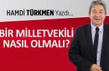 Hamdi Türkmen yazdı: Bir milletvekili nasıl olmalı?