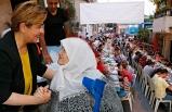 Konak'ta yoğun katılımlı iftar!