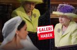 Törende büyük gerilim! Kraliçe'nin yüzü bir an olsun gülmedi