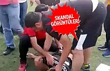 U17 maçında bıçaklı, sopalı kavga...