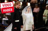 Yılın düğünü başladı! Prens Harry ve Meghan Markle evlendi