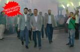 AK Partililer, Karşıyaka'yı İzmir Marşı ile inletti