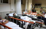 Askerler hastanelik oldu!