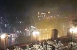 Bursa'da ani bastıran yağış etkili oldu