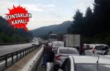 İzmir'den Manisa yönüne gidenlere büyük çile