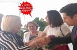 Muharrem İnce'nin eşi Ülkü İnce, İzmir'de