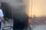 Niğde'de seçim kurulunun bulunduğu binada yangın