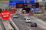 Sabuncubeli Tünelleri'nden kaç bin araç geçti?