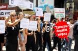Çocuk istismarına karşı 'sessiz' yürüyüş