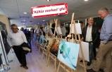 Karşıyakalılara belediyede 'sanatsal' karşılama