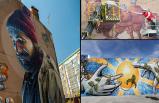 Sanat eserleri İzmir'de duvarları süsledi