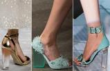Son trend; Şeffaf ayakkabı