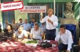 CHP'li Polat, JES'e karşı köylüye destek verdi