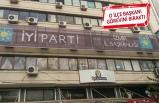 İYİ Parti İzmir'de dikkat çekici istifa!