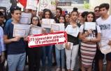 İzmir'de öğrencilerden takdir belgeli 'isyan'