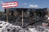 İzmir'de plastik fabrikasında korkutan yangın