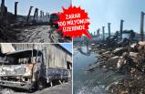 Konya'daki yangında 9 iş yeri kül oldu
