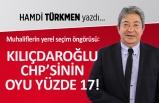 """""""Muhaliflerin öngörüsü: Kılıçdaroğlu CHP'sinin oyu yüzde 17"""""""