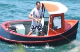 Ünlü oyuncu teknesini özel yaptırdı