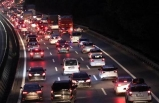 Yollarda tatil dönüşü yoğunluğu başladı... İşte trafikte son durum