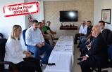 AK Partili Çankırı'dan Pazarcılar Odası'na ziyaret