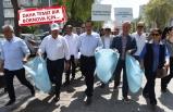 Başkan Atila ve Bornovalılar, ilçeyi birlikte temizledi