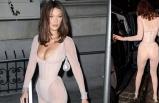 Bella Hadid'in kıyafeti olay oldu
