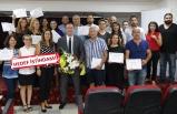 Buca'da 60 girişimcinin sertifikasını Başkan Piriştina verdi