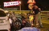 İzmir'de aynı yerde peş peşe kaza