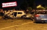 İzmir'de zincirleme kaza: 3 araç birbirine girdi