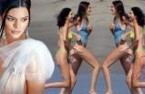 Kendall Jenner'ın bacakları olay oldu