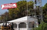Kültürkpark'ta İzmir Fuarı hazırlığı