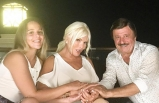 Manevi kızıyla Kıbrıs'ta buluştu