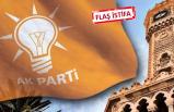 AK Parti İzmir'in o ilçe başkanı istifa etti!