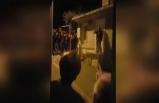 Akşener'in evinin önünde 'Bahçeli' sloganları