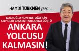 """""""Ankara yolcusu kalmasın"""""""