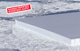 Antartika'da rastlanan kusursuz dikdörtgen buzdağının sırrı!
