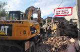 Damlacık'ta o evler 3 yılın ardından yıkılıyor