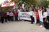 Ege Üniversitesi öğrencileri'nden teröre lanet